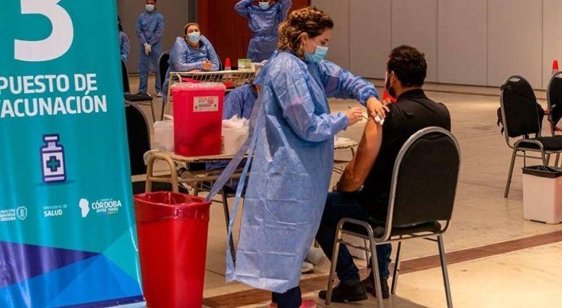 La Provincia recibió 40 mil dosis más de vacunas